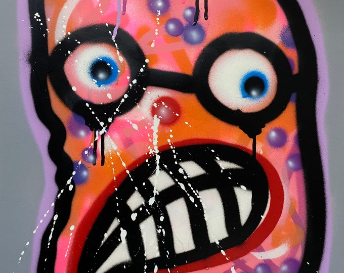 Title: Phizog Series no. 12 , Art , Pop Art , Modern Art , Contemporary Art , Surreal , Portrait , Figurative