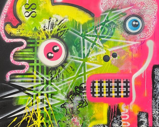 Title: Winter Sunset , Art , Pop Art , Modern Art , Contemporary Art , Surreal , Portrait , Figurative , Abstract Art