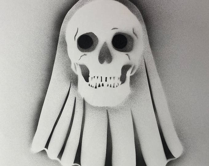TITLE: ghosted 2020 , Abstract Art , Pop Art , Modern Art , Surrealism , Contemporary Art , Figurative Portrait