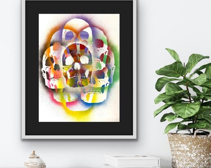 TITLE: Full Spectrum , Art , Pop Art , Modern Art , Surrealism , Contemporary Art , Figurative