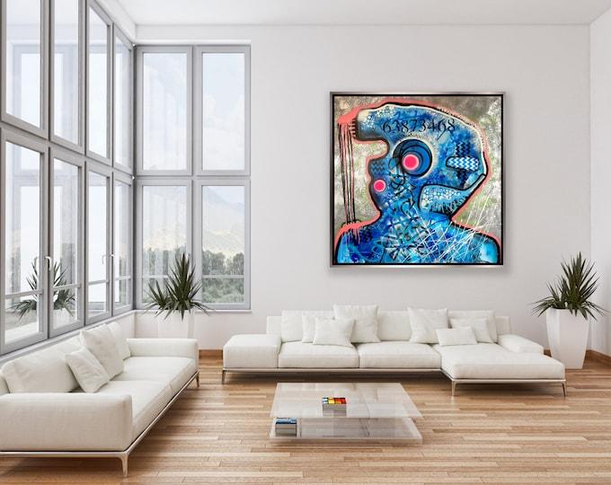 Title: The strings attached... Art , Pop Art , Modern Art , Contemporary Art , Surreal , Portrait , Figurative , Abstract Art