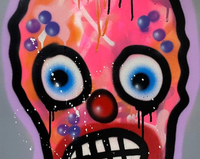 Title: Phizog Series no. 13 , Art , Pop Art , Modern Art , Contemporary Art , Surreal , Portrait , Figurative