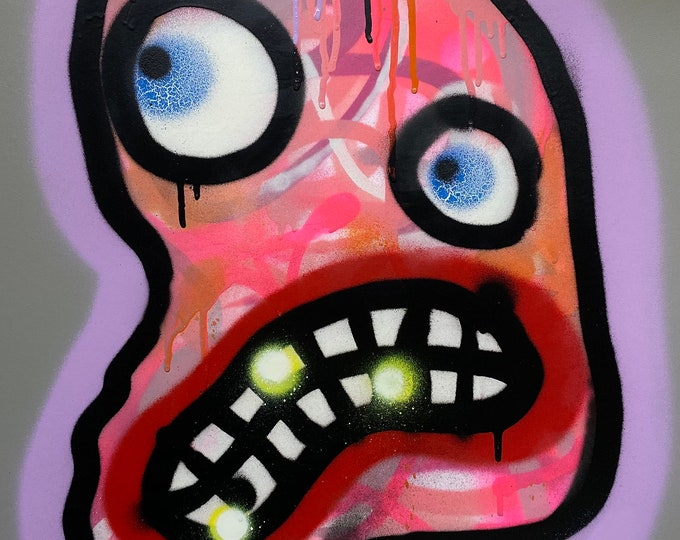 Title: Phizog Series no. 2 , Art , Pop Art , Modern Art , Contemporary Art , Surreal , Portrait , Figurative