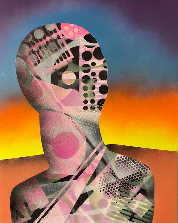 TITLE: Inanimate series # 2 , Art , Pop Art , Modern Art , Contemporary Art , Surreal , Portrait , Figurative
