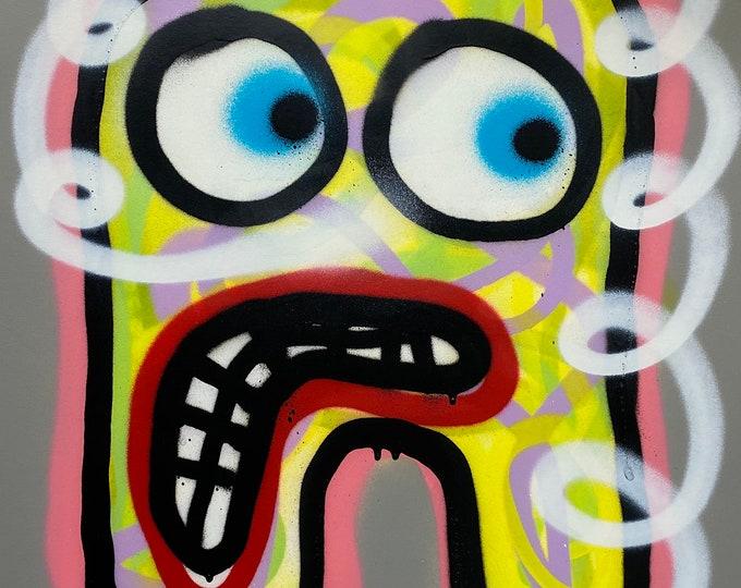 Title: Phizog Series no. 1 , Art , Pop Art , Modern Art , Contemporary Art , Surreal , Portrait , Figurative