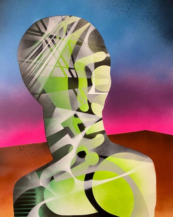 TITLE: Inanimate series # 3 , Art , Pop Art , Modern Art , Contemporary Art , Surreal , Portrait , Figurative