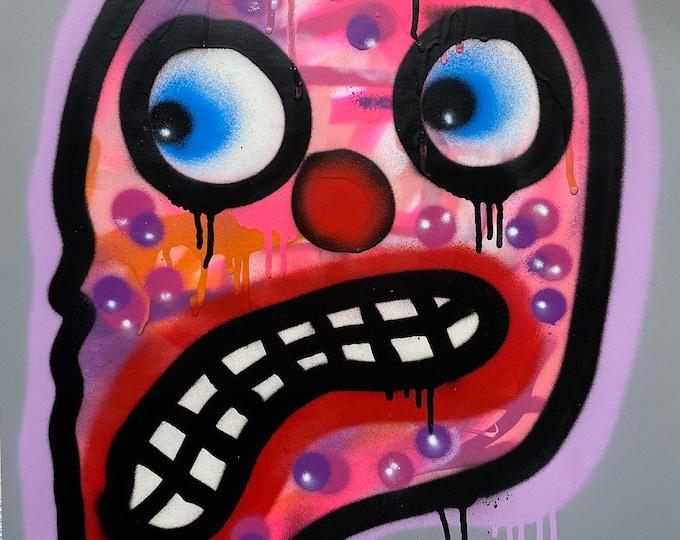 Title: Phizog Series no. 3 , Art , Pop Art , Modern Art , Contemporary Art , Surreal , Portrait , Figurative
