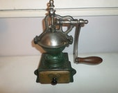 Rare and former French coffee grinder pepper counter Peugeot A00 - 1879-1943