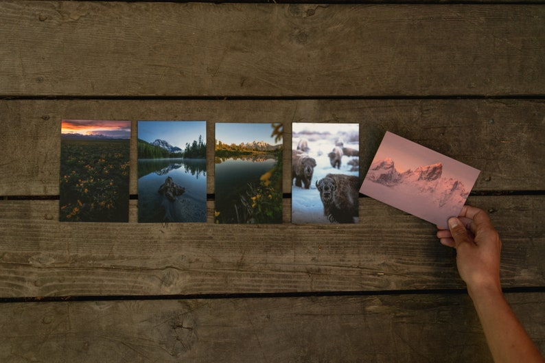 Grand Teton National Park Postcard Collection 5-Pack image 0