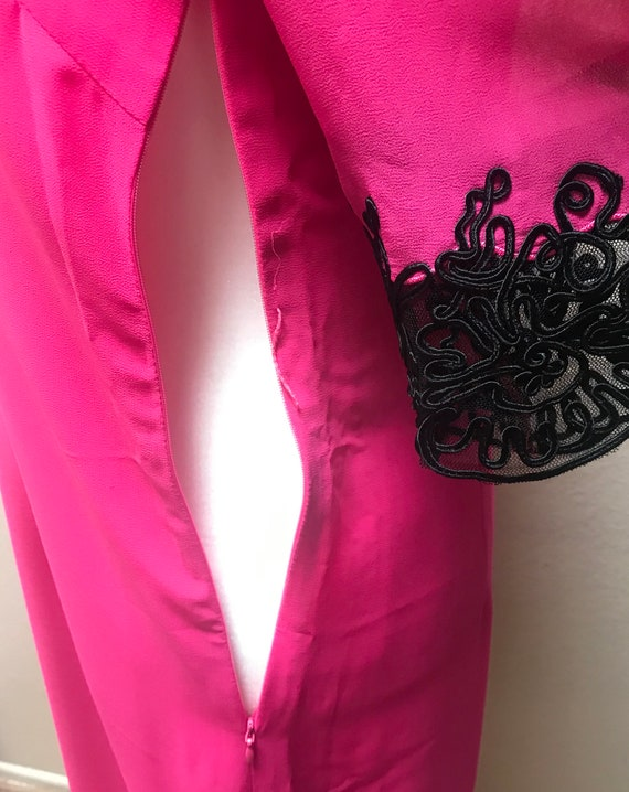 Vintage 1990's Anna Sui pink dress - image 7