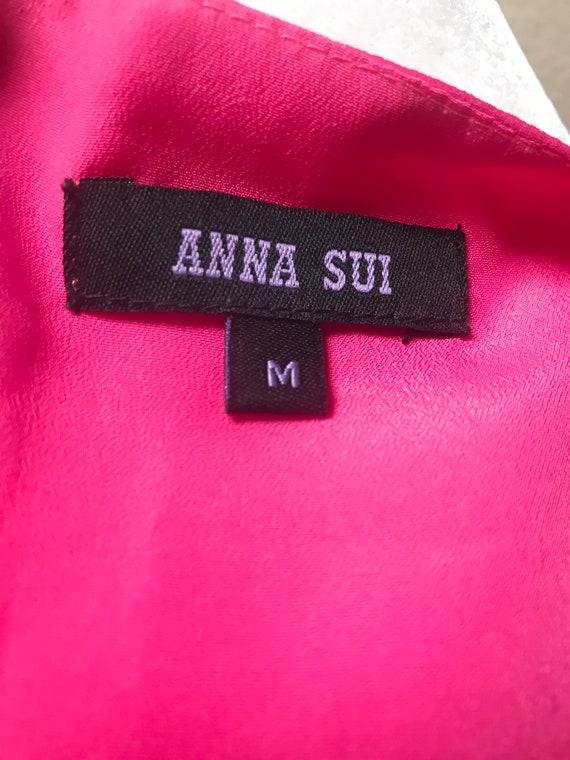 Vintage 1990's Anna Sui pink dress - image 8