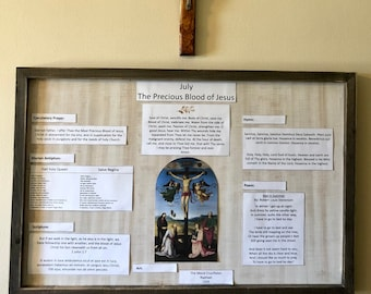Monthly Liturgical Board July
