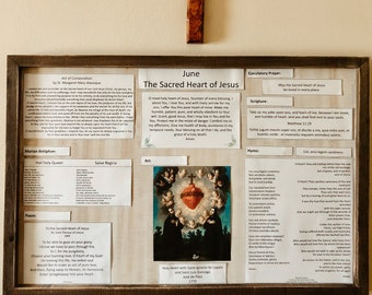 Monthly Liturgical Board June