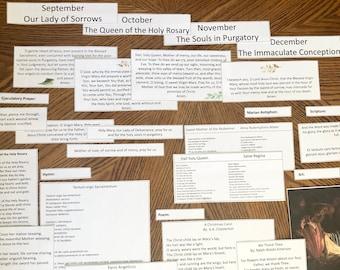 BUNDLE Monthly Liturgical Board Sept to Dec