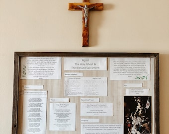 Monthly Liturgical Board April