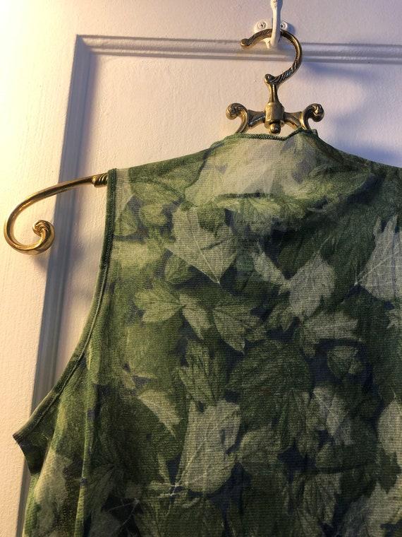 90's Calvin Klein see mesh shirt, 90's Calvin Kle… - image 3