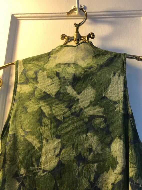 90's Calvin Klein see mesh shirt, 90's Calvin Kle… - image 2