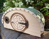Hobbit Hole Rabbit Playhouse - Bunny play structure with some magic from The Shire! Secret Hideaway for your Bun -Perfect for climbing, too!