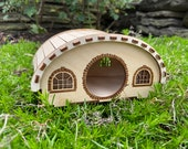 Hobbit Hole Hamster Playhouse - Hamster hideout with some magic from The Shire! Secret LOTR hideaway house for your tiny beastie bestie!