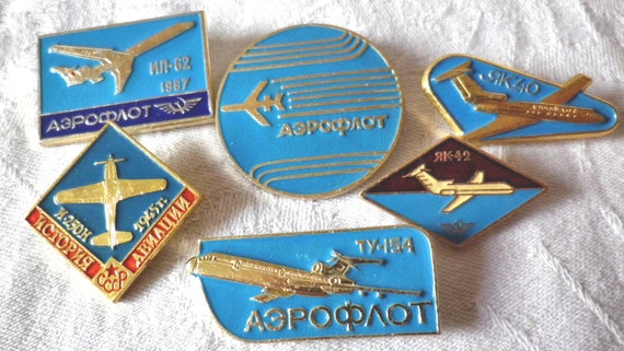 Douglas Aircraft Badge and Button