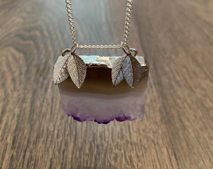Armed in Amethyst - Necklace