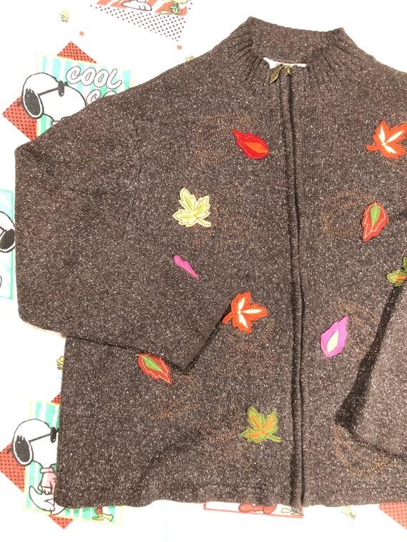 Penmans cottagecore knit oversize zip - image 3