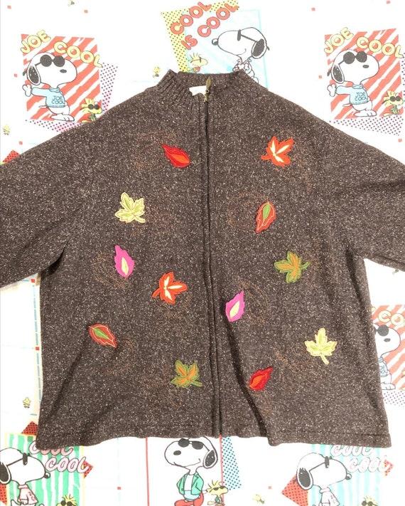 Penmans cottagecore knit oversize zip - image 4