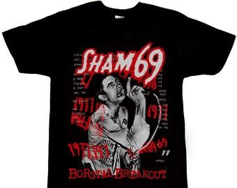 SHAM 69 dépêche Harry Punk Rétro Vintage Hipster Cadeau Unisexe T Shirt Tee 0266