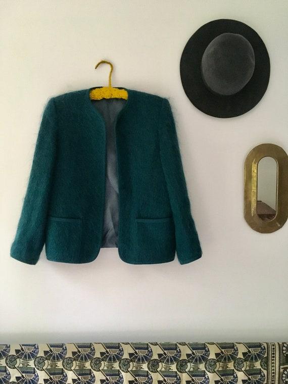 Wool Mohair Cardigan