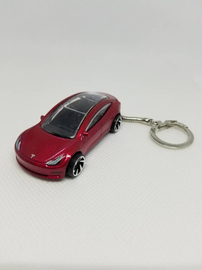 Tesla Model 3 Key Chain Unique Tesla Gifts for Him ...