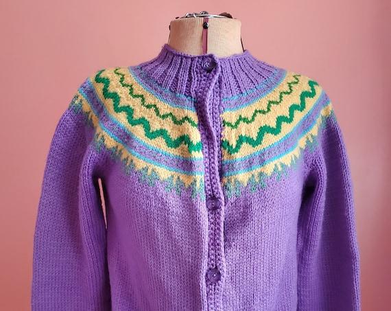 Vintage Purple Sweater