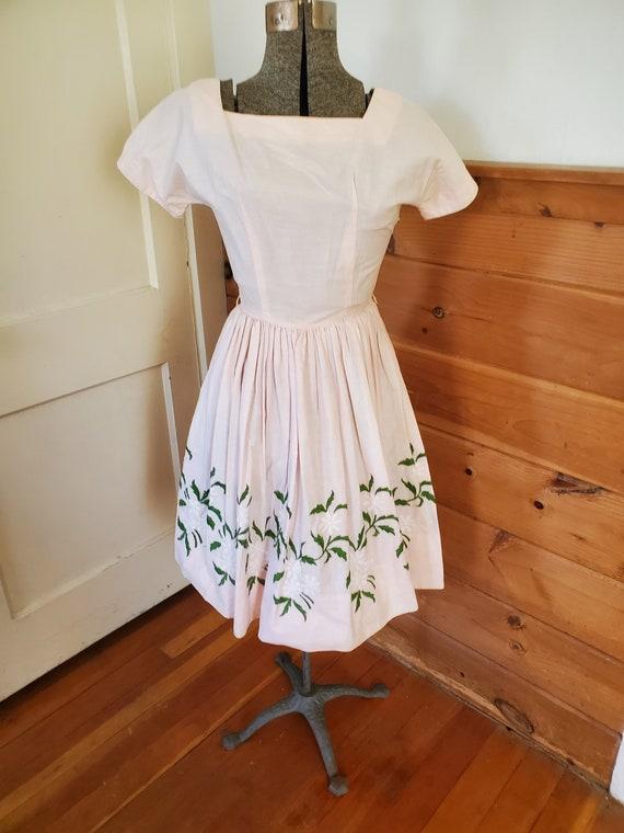 Vintage Youth Fair Junior Dress