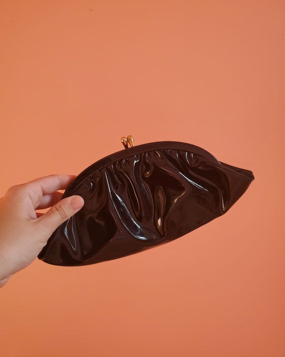 Sexy Patent Leather Clutch