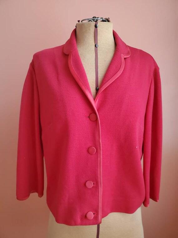 Hot, Hot Pink Vintage Blazer