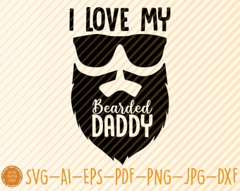 I Love My Papa Svg Etsy