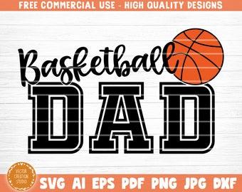 basketball dad svg