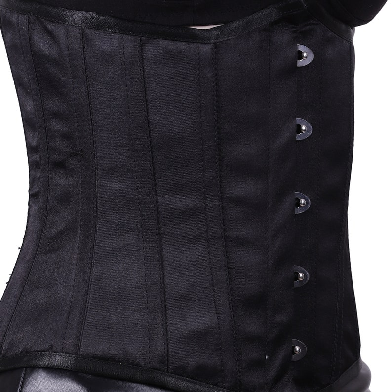 Black Underbust Corset with short pant