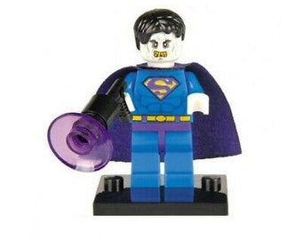 Lego Custom Bizarro Man Of Steel Style Minifigure UV Printed