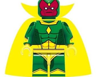 Vision Mini Figure Avengers End Game Marvel Age Of Ultron UK Seller