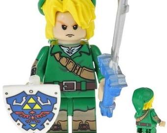 New in Package The Legend of Zelda Custom Lego Figure
