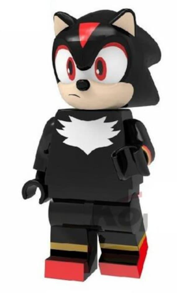 4 Pcs Sonic the Hedgehog Mini Figure NEW UK Seller Fits Major Brand Blocks Game