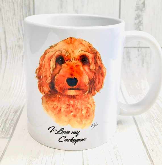 COCKERPOO GIFT IDEA MUG PRESENT FOR LOVER OF BREED