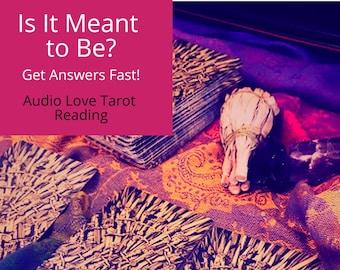 In Depth Love Tarot Reading - Same Day Audio Tarot Card Reading