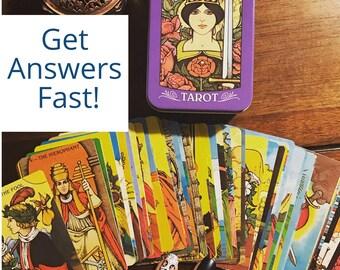 Same Day Tarot  Card Reading, Personal Audio  Tarot Reading, Fast Turnaround