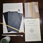 Notebook Kit, Small 10 x 15 cm, Beginner, Diary, Book Kit, Self Bookbinding Beginner, DIY Notitzbook, Instruction Journal Beginner