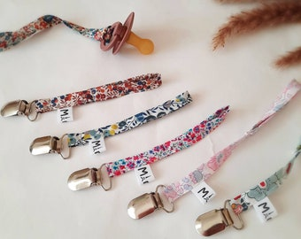 More colors  Attached nipple Crochet pacifier holder clip Pacifier clip,Liberty London Betsy Liberty nipple hook Liberty accessories