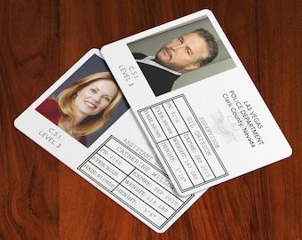 CSI: Crime Scene Investigation - Cosplay ID Badge