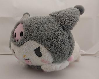 "Kuromi My Melody 11"" Large Plush - Official Sanrio Plushie - Hello Kitty Friends, Fluffy Plushie, Soft Stuffed Animal"