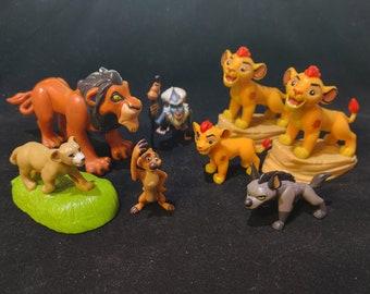 The Lion King Collectible 8 Figure Set - Lion Guard, Banzai, Kion, Rafiki, Timon, Scar, Nala, Sarabi - Lion, Hyena, Baboon, Meerkat Toys