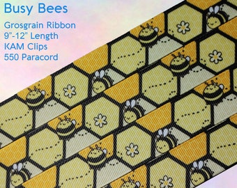 Busy Bees Adult Pacifier Clip - Custom Color